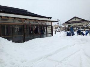 鹿角市の雪