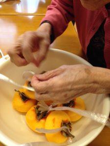 干し柿作り